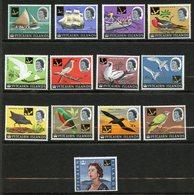 Pitcairn, Yvert YT 71/83**, Scott 72/84**, SG 69/81**, MNH - Timbres