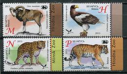 Belarus 2013 Bielorrusia / Fauna Zoo Mammals Birds MNH Mamíferos Aves Vögel Säugetiere / Cu6421  37-27 - Sin Clasificación
