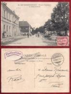 CPA..LES VERRIERES...FRONTIERE FRANCO-SUISSE...LA DOUANE FRANCAISE - France