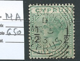 CHYPRE - GRANDE BRETAGNE. COLONIE BRITANNIQUE.  N° 14A.  Cote 650 €. - Cyprus (...-1960)