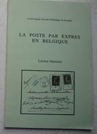 Brochure La Poste Par Express En Belgique Philatélie Timbre Zegel Poste Cachet - Stamps