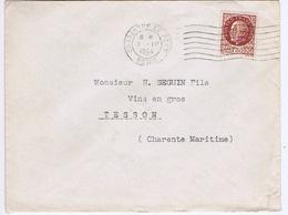 VAL De MARNE - Flamme Muette Ondulée à Droite CHARENTON LE PONT Du 7 - IV  1944 - Marcophilie (Lettres)