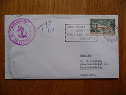 (2) Schiffpost Shipmail  MALGACHE LE VAGUEMES FRANCE 1967 - Boten