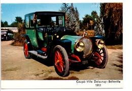 VOITURE COUPE VILLE DELAUNAY-BELLEVILLE 1911 - Voitures De Tourisme