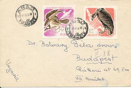 Romania Cover Sent To Hungary Arad 30-11-1972 - Cartas