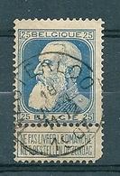 76 Gestempeld WESTERLOO  - COBA 4 Euro - 1905 Thick Beard