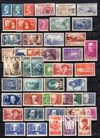 France Belle Collection De Bonnes Valeurs Neufs ** MNH 1922/1942. Gomme D'origine. TB. A Saisir! - Frankreich
