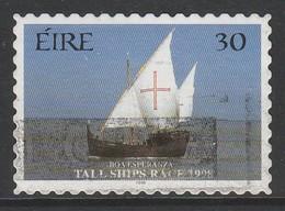 Ireland 1998 Tall Ships Race - Dublin 30 P Multicoloured SW 1095 O Used - 1949-... Republic Of Ireland