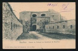 BOUILLON   ENTREE DU  CHATEAU DE GODEFROID DE BOUILLON - Bouillon