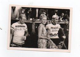CYCLISME TOUR  DE  FRANCE  ANDRE DARRIGADE EDDY MERCKX  CIRCUIT DE L'AULNE 1966 PHOTO ORIGINALE 9 X 13 - Ciclismo