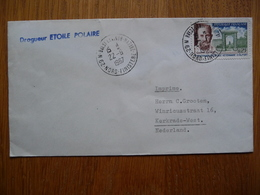 (2) Schiffpost Shipmail DRAGUEUR ETOILE POLAIRE FRANCE 1967 - Schiffe