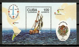 Cuba 1981 / Ships MNH Barcos ESPAMER Bateaux Schiffe / Cu10104  22-43 - Barche