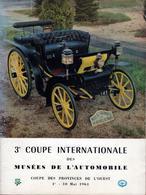 Revue De La 3e Coupe Internationale Des Musées De L'Automobile - Coupe Des Provinces De L'Ouest Du 1 Au 10 Mai 1964 - Auto