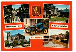 MULTIVUES DU MANS - Postkaarten