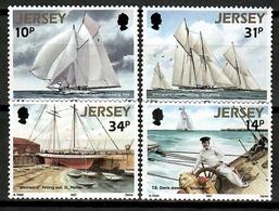 Jersey 1987 / Ships MNH Barcos Bateaux Schiffe / Cu12325  5-10 - Barche