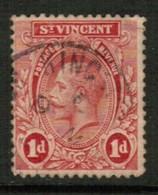ST.VINCENT  Scott # 119 VF USED (Stamp Scan # 560) - St.Vincent (...-1979)