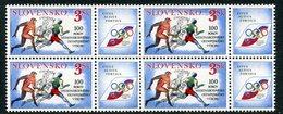 SLOVAKIA 1994 IOC Centenary Block Of 4 MNH / **.  Michel 194 - Nuevos