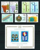 ONU (Nueva York) LOTE Con 5 Series Nuevo - Colecciones & Series