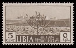 Libia - 13^ Fiera Di Tripoli: 5 C. Bruno Oliva (veduta Di Un Terreno Coltivato) - 1939 - Libye