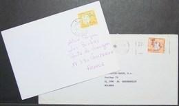Portugal - Cover Lot (2) To Europe 1996 - 1997 Discoveries Navigators Solo - 1910-... República