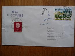 (2) Schiffpost ShipmaiL* M 909 F. BOVESSE 1967 BELGIE - Boten