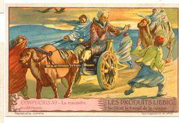"S1236- CHROMO LIEBIG - 1930 -  "" CONFUCIUS "" : VI LA RENCONTRE MYSTERIEUSE - Liebig"