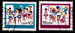 DDR 1968 Mi.nr. 1432-1433  20.Jahre Pionierorg. Ernst Thälmann  OBLITÉRÉS-USED-GEBRUIKT - [6] République Démocratique
