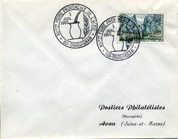 DRAGUIGNAN 12e FOIRE PROVENCALE DE L'OUVE Poterie Végétal - Poststempel (Briefe)