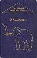 TAILANDIA  KEY HOTEL   Sawasdee Bangkok - Hotelkarten