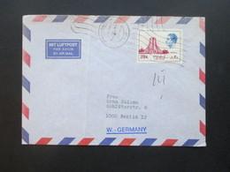 Iran 1970er Jahre Mit Luftpost / Air Mail Letter Nach Berlin - Iran