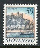SLOVAKIA 1993 Definitive: Towns 50 Sk MNH / **.  Michel 186 - Neufs