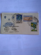 Brasil First Day Card Illustrated With 2 Pmks World Cup 1950 24 June - Fußball-Weltmeisterschaft