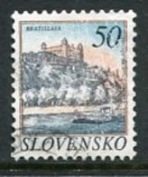 SLOVAKIA 1993 Definitive: Towns 50 Sk Used.  Michel 186 - Usados