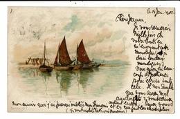 CPA-Carte Postale-Royaume Uni- Sailing Ship -1901 VM10177 - Fishing
