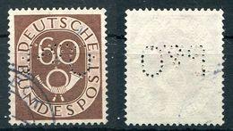 """Deutschland Michel-Nr. 135 Perfin """"P&O"""" Gestempelt - Gebraucht"""