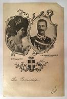 30191 La Regina Elena E Il Re Vittorio Emanuele III - Königshäuser