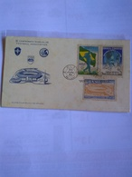 Brasil First Day Card Illustrated With One Pmk World Cup 1950 24 June - Fußball-Weltmeisterschaft