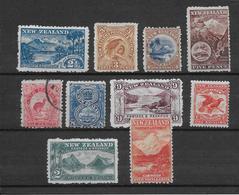 Nouvelle Zelande N°102/111 - Neuf */(*)/ Oblitéré - B/TB - Ungebraucht