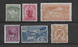 Nouvelle Zelande N°112/117 - Neuf */(*) - B/TB - Ungebraucht