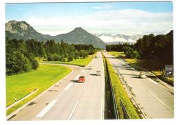Autobahn Rosenheim Kufstein - Cars - Autos - VW Käfer 1200 1500 T3 - Opel - Turismo
