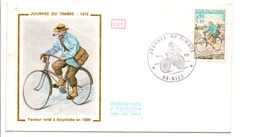 FDC 1972 JOURNEE DE TIMBRE - NICE - FDC