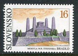 SLOVAKIA 1993 Stefanik Mausoleum Single Ex Block MNH / **.  Michel 184 - Nuevos