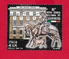 ITALIA REPUBBLICA USATO - 2017 - 80° Anniversario Inaugurazione Museo Storico Arma Dei Carabinieri - 0,95 € - S. 3766 - 2011-...: Usati