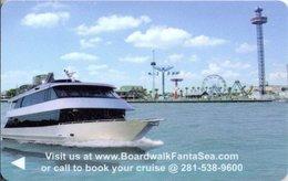 STATI UNITI  KEY CABIN  The Boardwalk FantaSea -     Shipping Company - Cartes D'hotel