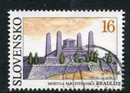 SLOVAKIA 1993 Stefanik Mausoleum Single Ex Block Used.  Michel 184 - Usados
