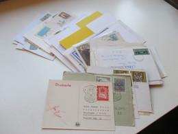 Belegeposten Österreich Christkindl 1956 - 2012 Mit über 60 Stk. Etl. Leitzettel über Christkindl Fundgrube!! Reco Usw. - Collections (without Album)