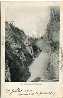 NOS POILUS Dans Les TRANCHEES - - Oorlog 1914-18