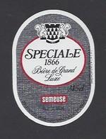 Etiquette De Bière Grand Luxe   -  Spéciale 1866 -   Brasserie Semeuse à Hellemmes Lille   (59) - Beer