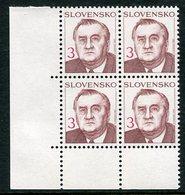 SLOVAKIA 1993 Definitive: President 3 Kc MNH / **.  Michel 180 - Nuevos