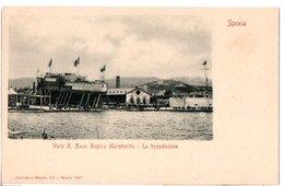 LA SPEZIA-VARO R. NAVE REGINA MARGHERITA LA BENEDIZIONE - La Spezia